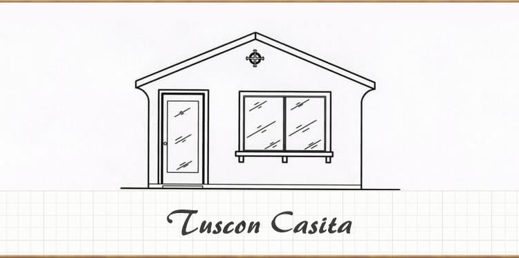 Tuscan casita 280 sq ft studio shadow mountain for Tuscan home plans with casitas