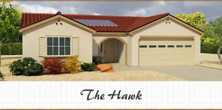The hawk 1585 sq ft 3bd 2ba shadow mountain construction for Stick built garage plans